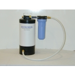 Water Mark Portable Boat and RV Water Softener - Flat white finish