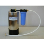 Water Mark Portable Boat and RV Water Softener - Stainless Steel
